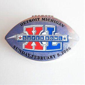 NFL SUPER BOWL 40 Commemorate Pin Rare Collectible